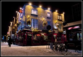 Temple Bar by Mfotografie