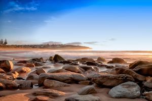 South Curl Curl Sandy Beach by jaydoncabe