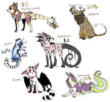 Original Creatures and Design selling oUo by The-F0X