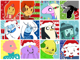 More Christmas Icons by Jackie-lyn