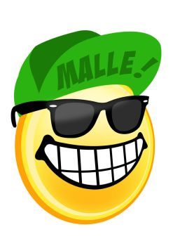 The Malle Smiley Shirt Design by Wybi