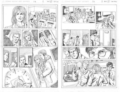 Pencil pages samples 3 by ivancortezvega