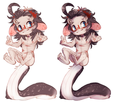 Rodger Glider Mini Ref flats and shaded by Dragonpunk15