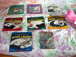 My Black Lagoon book collection in progress by hershey990