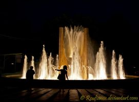 Shadows in the night by Roufianos