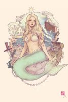 The Little Mermaid by JDarnell
