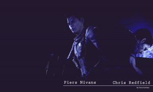 Piers and Chris Resident Evil 6 by JillValentinexBSAA