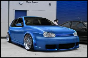 VW GOLF Euro Style by mateus12345