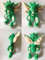 Scyther Pokemon Time Plush by Pannsie