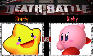 Starfy vs Kirby by SonicPal