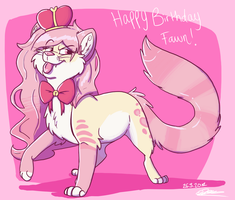 Happy Birthday Fawn by Asp3ll
