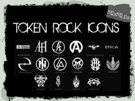 TOKEN ROCK ICONS PACK by charmila