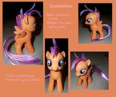 Custom Scootaloo by Gryphyn-Bloodheart