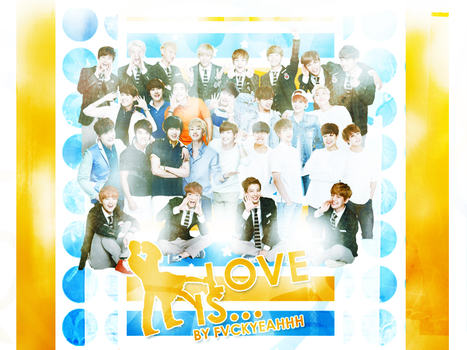 Love Is Poster by galaxytaehyung