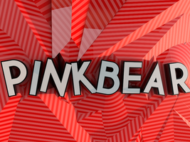 Striped 3D Typography by pinkbear0711