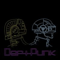 daft punk outline by heinpold