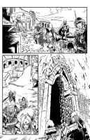 Pathfinder Hollow Mountain #1 page 8 by tomgarcia
