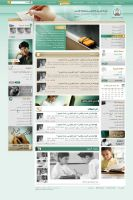 Saudi education ministry site by bluelioneye