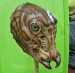 Insectoid latex mask by BOULARIS