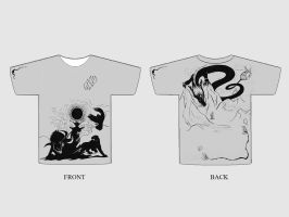 Roommates - Such Stuff... - T-Shirt design by Mali-chan
