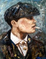 Thomas Shelby by amoxes