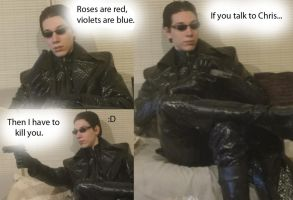 Wesker's poem by IKevinXSer