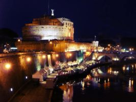Castel Sant Angelo by Cranberry413