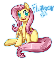 Fluttershy::again: by Pauuh