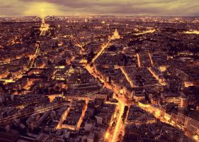 Paris la nuit by klefer