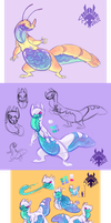 assorted beasties by VCR-WOLFE