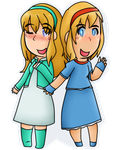 [PCOM] Aland and Oland by poi-rozen