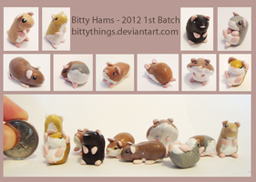 1st Batch of Bitty Hams for 2012 - 4 Remain by Bittythings