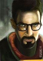 Gordon Freeman Half Life 2 by RV5T3M