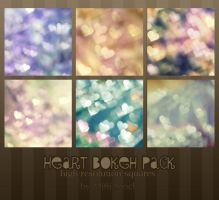 Heart Bokeh Pack by Mifti-Stock