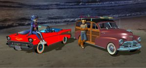 Beach Cruising by HectorNY
