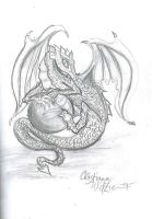 Dragon by Ekk-the-5ifth