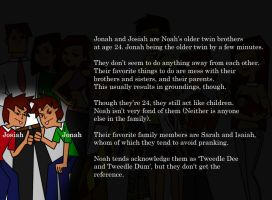 Jonah and Josiah's Profile by Kiku-No-Hoshi-XD
