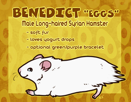 Commission - Benedict ref by pandapoots
