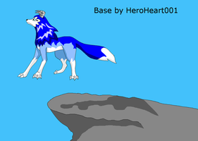 Monster rancher tiger Female base by HeroHeart001