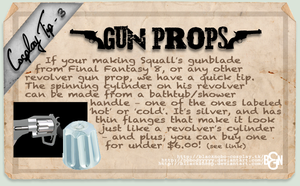 Cosplay Tip 3: Gun Props by Bllacksheep