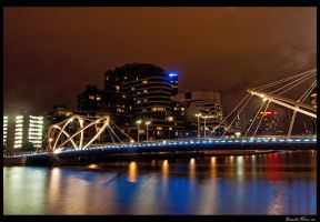 Yarra Promenade Bridge by DanielleMiner