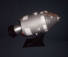 Monogram 1/32 Apollo 8 CSM by HDorsettcase