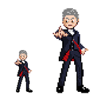 12th Doctor Sprite by Kisaoda