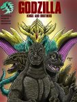 Godzilla: Kings and Brothers,Graphic Novel Cover by kaijukid