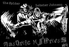 Lobster and the Spider: Masonic Madness by ADE-doodles