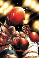 Boxing cover by JPRart