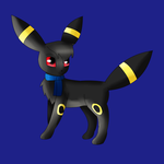 Tony the Umbreon by KendraTheShinyEevee