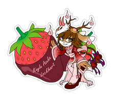 Comm.Food Sticker. Kayle Asuka Lockhart by 13VOin