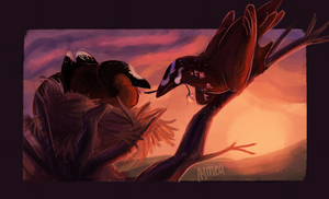 March prompt with Amir and Yara by Aymea