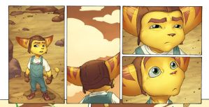 Ratchet and Clank panels by a-archer